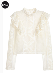cheaper white blouse