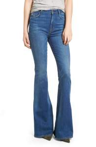 nordstrom Holly High Waist Flare Jeans